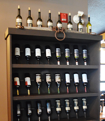 Rustic Kitchen and Bar - Wine selection